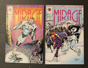 Lot Of 2 Valiant Comics Second Life Of Doctor Mirage #1,2