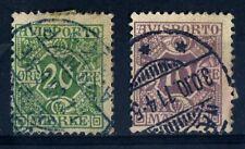 DENMARK  1907  SG N134 & 135  NEWSPAPER STAMPS  Used