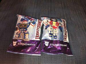 Wendys Kids Meal Transformer Soundwave Starscream Figure Happy Meal Toy MIP 2019