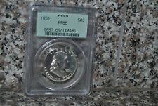 1956- 50c Franklin half.  PCGS PR-66.   old green label-