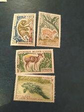 Cote d'ivoire - 1964 Animals  - lot - neuf**