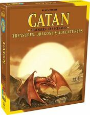 Board Games Catan Treasures Dragons & Adventurers