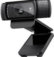Logitech C920 Pro HD Webcam 1080p Microphone Video Call Skype USB PC RRP £89.99