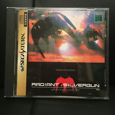 Radiant Silvergun - Sega Saturn import - US Seller - Complete SHMUP