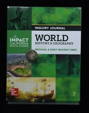 Impact Social Studies Grade 7 World History & Geography Inquiry Journal 7th