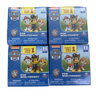 New Lot of 4 Paw Patrol Ultimate Rescue Series 1 Paw Mini Figures Blind Box