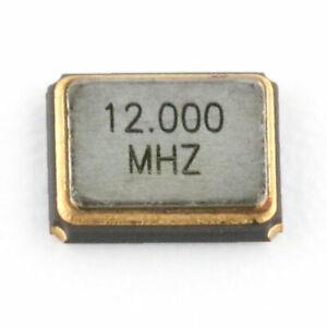 1PCS 5070 SMD Active Quartz Crystal Oscillator Resonator 5*7mm 4P 12MHZ 12.000M