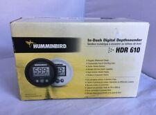 Humminbird 4064801 In-Dash Digital Depth Gauge (Hdr610-P)