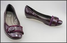 SARA COLE WOMEN'S PURPLE LOAFER LOW HEEL SHOES SIZE 8 AUST 39 EUR