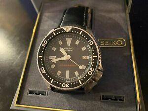 Seiko Divers Automatic  Black Dial Men's Watch