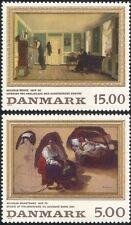 Denmark 1994 Bendz/Marstrand/Artists/Painters/Art/Room/Woman 2v set (n20900)
