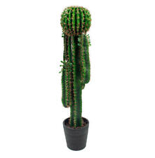 Blooming Artificial San Pedro Cactus Plant Succulents Echinopsis Pachanoi 126cm