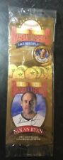 Golden Baseball Legends 24KT Gold Plated Colorized Quarter Nolan Ryan *NEW*