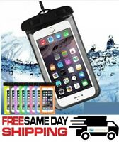 New Underwater Waterproof Dry Bag Swimming Case For Cell Phone iPhone Samsung