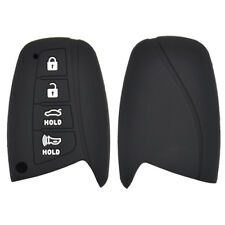 Silicone  Remote Key Case Cover For Hyundai Genesis Santa Fe Equus 15 16 17 18