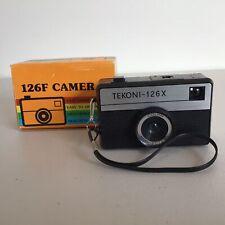 Vintage. Tekoni - 126 X Film Color Corrected Camera with Original Box #565