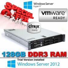 "Dell PowerEdge R710 2x X5675 3.06GHz 128GB RAM 6x3.5"" caddies H700 + Front Bezel"