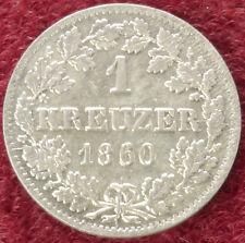 Bavaria 1 Kreuzer 1860 (C0610)
