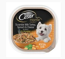 Cesar Home Delights Scramble with Turkey Spinach & Cheese in Gravy 24 Pack DOG