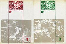Emilio Garcia Riera HISTORIA DOCUMENTAL DEL CINE MEXICANO 1 e 3 volume