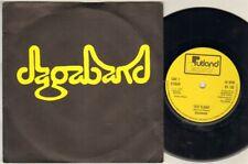 """Vuelo de prueba dagaband 7"""" PS, Orig 1980 Prog Rock/NWOBHM era único, B/W imágenes, R"""