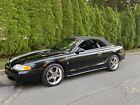 1997 Ford Mustang COBRA 1997 Ford Mustang Convertible Black RWD Manual COBRA
