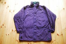 Womens Vintage Patagonia Purple Padded Insulated Winter Jacket Coat Large