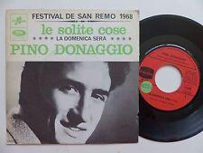 PINO DONAGGIO Le solite cose CF 131 FRANCE Discotheque RTL