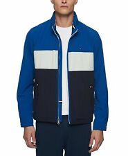 Tommy Hilfiger Mens Jacket Full Zip Lightweight Taslan...