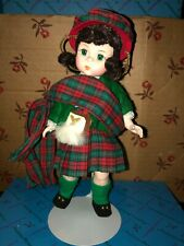Vintage Madame Alexander International With Box Scotland #596 (100% for charity)