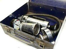 Vintage Stant  ST-255 Radiator Cap Pressure Tester Metal Box Cooling System