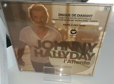 JOHNNY HALLYDAY L ATTENTE DISQUE DE DIAMANT CD RESTER VIVANT