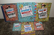 Where's Wally? x4 Books Martin Handford  4 large books & 2 small books