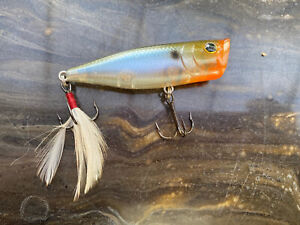 Lucky Craft G-Splash 80 Ghost Minnow Floating Fishing Lure 3/8 oz Made in Japan