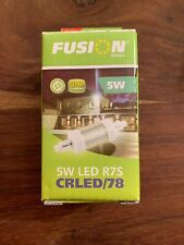Fusion 5W R7s 78mm LED Non Dimmable Linear Lamp 6000-6500k EDLED/78