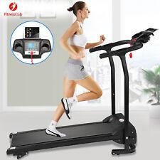 2HP Folding Treadmill Electric Motorized Power 12KM/H Running Fitness Machine