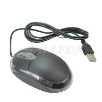 Small Wired USB Scroll Wheel Optical Mouse for PC Laptop Computer LrJNE bara