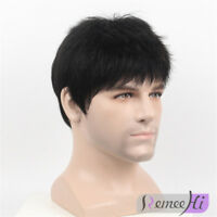 top piece 100% Remy Human Hair Topper Toupee Hairpiece machine cap For Man