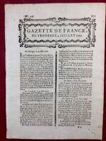 Cuzac en 1777 Blaye Gironde New York USA Howe Château du Fou Malte Bordeaux