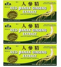 3 BOXES RED PANAX GINSENG EXTRACT 30 BOTTLES 12 YEAR ROOT EXTRA STRENGTH 6000MG