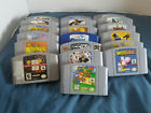 Nintendo 64 N64 Authentic Game Lot Pick & Choose Buy 3 Get 4th 50% OFF!!!