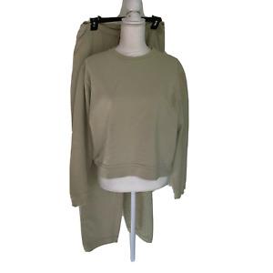Non-Fiction Active Tiger Brand Sweat Suit Medium M Womens Cotton Baggy Bottom