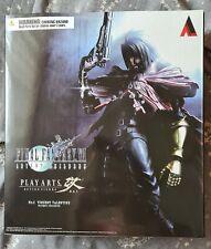 Vincent Valentine Final Fantasy VII Advent Children Play Arts Kai Figure NEW