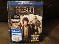The Hobbit: An Unexpected Journey (Blu-ray/DVD DIGIBOOK, 2013, UltraViolet) OOP