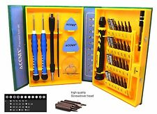 Screwdriver Set Repair Tools Kit Fixing iPhone Laptop MacBook Xbox Watches +Case