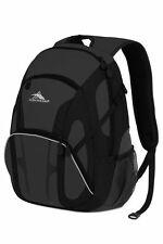 High Sierra Composite Backpack With Mp3 Pocket in Charcoal/black 31l