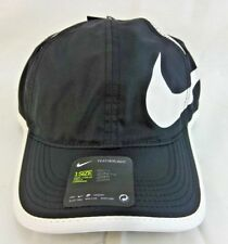 a943adc2d44 Nike Youth Featherlight Swoosh Cap ‑ Black Adjustable NWT