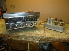 VINTAGE MARCONI TUBE STEREO SYSTEM ,  AMPLIFIER + TUNER PRE AMP