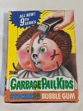 1986 Garbage Pail Kids Series 9. 48 sealed Packs