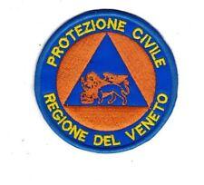 [Patch] PROTEZIONE CIVILE REG. VENETO diametro 7,5 cm toppa ricamata ricamo -491